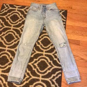 Levi's high waisted jean